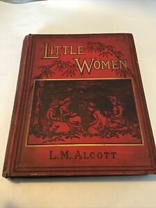 Little Women - The Second Part by L.M. Alcott 1890s W H Allen Ilustrated RARE