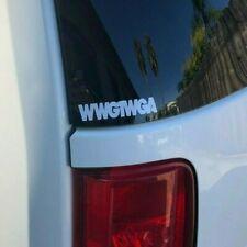 WWG1WGA Qanon Q Anon Premium Die Cut Vinyl Decal 3.5