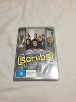 Scrubs Complete Third Season 3 Region 4 DVD PAL 4 Disc Set Series 3 Brand New