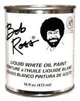Bob Ross Liquid White Medium 16 oz Bottle Oil Paint Base Coat