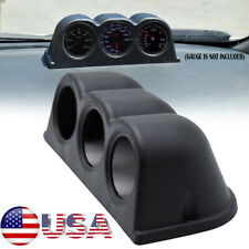 Universal 52mm 2 Triple Gauge Meter Holder Pod Dashboard Mount Dash Cup Suv Abs