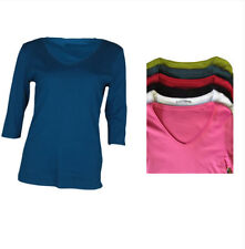 Marks and Spencer Women's Cotton V Neck Jumpers & Cardigans