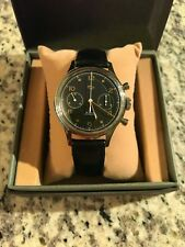 Sea-Gull WUS 1963 Mechanical Chronograph Re-Issue 38mm with Open Case Back
