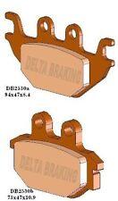 Quadzilla Z 6 4x4 Rear Brake Pad Delta Sintered DB2550 FA344 2010-2011 500 CUV