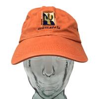 Suttons Sportswear Scottsdale Arizona Baseball Cap Hat Orange OSFM Strap Back