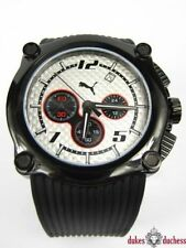 Relojes de pulsera unisex Chrono de acero inoxidable