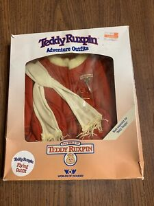 Teddy Ruxpin Adventure Outfits Flying Outfit Worlds of Wonder