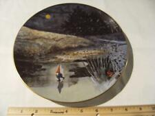 Rien Poortvliet Collector Plate Gnome Four Seasons. First Skater. Winter.
