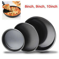Carbon Steel Non-Stick Pizza Pan Oven Baking Trays Mold Cake Dish Mould