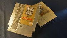 Legend of Zelda 1 And 2 Adventure of Link NES Bundle - TESTED