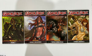 QUEEN SONIA VOLUMES 1, 2, 3, 4 - Graphic Novels TPB - Dynamite