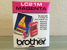 Brother Magenta Ink Cartridge LC21M - Genuine - New - Sealed