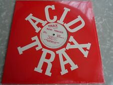 ACID TRACKS LP Red Labels RARE TRAX RECORDS CIRCLE JERKS 1988 MINT