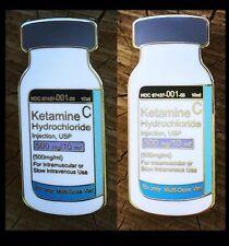 KETAMINE VIAL HAT PIN L/E Of 200! Not BLOTTER ART Sharpstone Grinder Raw EDM