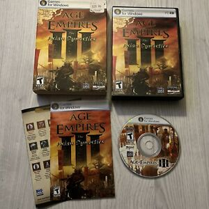 AGE OF EMPIRES III 3 : THE ASIAN DYNASTIES EXPANSION PACK - PC GAME COMPLETE VGC