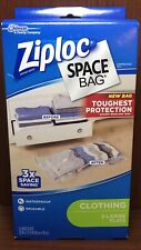 Ziploc Space Bag For Clothing 3 Large Flats