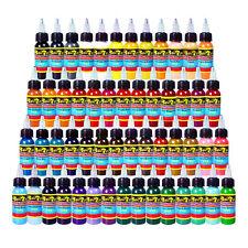 Solong Tattoo Inks 54 Colors Set 1oz 30ml/Bottle Tattoo Pigment Kits TI301-30-54