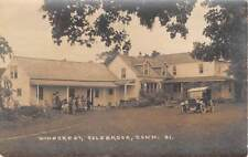 COLEBROOK, CT, WINDCREST, PEOPLE, CAR, EASTERN ILLUS REAL PHOTO PC c 1910-20