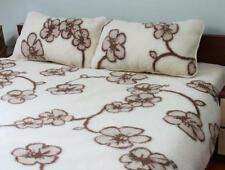 Exclusif laine mérinos couette couette king couette 240 x 200 cm + 2 oreillers 45 x 75 cm