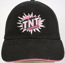 TNT Fireworks Pink and Black Baseball Hat Cap and Adjustable Strap