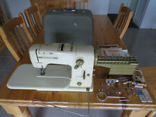Vintage Bernina Record Model 730 Sewing Machine in Case - WORKING