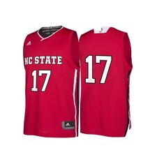 NC State Wolfpack adidas Basketball March Madness Replica Jersey Men s L Red b82ba090e