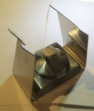 Support avec lampe à alcool « Inox 18/8 made in Zwitzerland 70 »
