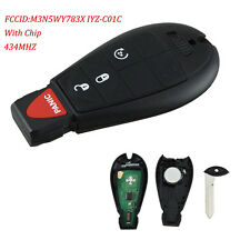 For 2009 2010 2011 2012 Dodge Ram 1500 2500 3500 Remote Start Car Key Fob