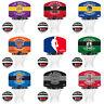 Spalding NBA Mini Board Team Basketball Hoop Net Backboard Ball Indoor Game Set