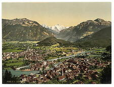 Interlaken Bernese Oberland Switzerland A4 Photo Print
