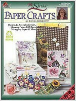 Donna Dewberry Book Onestroke Paper Crafts Book NEW