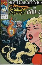 Marvel Comics Presents #96 Wolverine Ghost Rider Cable flip comic book Sam Keith