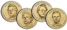 2010-P  ALL 4 PRESIDENTIAL DOLLAR COINS
