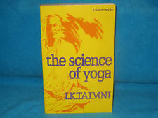 the SCIENCE of YOGA ~ I K Taimini.  sc  SCARCE!  BEST for yoga sutras    in MELB