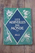 Ancien album d'images chocolat Nestle merveilles du monde n°3 1933