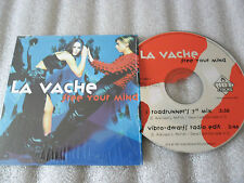 CD-LA VACHE-FREE YOUR MIND-ROADRUNNER'S 7 MIX-VIBRO DWARFS-(CD SINGLE)97-2TRACK