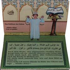 ISLAM-KORAN-SUNNAH-Lerne das Gebet -Arabisch/Deutsch