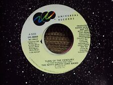 """NITTY GRITTY DIRT BAND Turn Of The Century/Blues Berry Hill 7"""" 45 country-rock"""