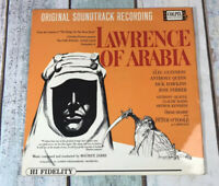 LAWRENCE OF ARABIA 1963 FIRST ISSUE SOUNDTRACK  VINYL LP,NPL28023,EX CONDITION