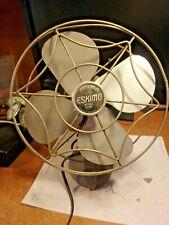 QQQ-vintage ESKIMO electric fan- working  # 1100R