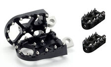 Flo Motorsports V3 BMX Style Footpegs & 2 Shifter Pegs Combo Kit - BLACK - H-D