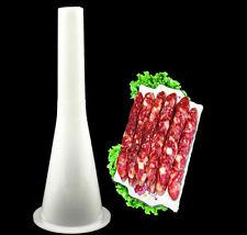 1PCS Sausage Making Funnel Stuffer Filler Tube for Size 5# Plastic Manual Tools