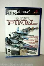 R-TYPE FINAL GIOCO USATO BUONO STATO SONY PS2 EDIZIONE ITALIANA PAL GS1