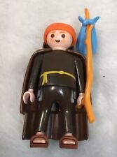 Playmobil 3631 Wandering Monk Figure complete With Stick & Bag