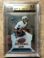 16-17 UD Upper Deck ICE Premieres Rookie #175 MATHEW BARZAL /499 Graded BGS 9.5