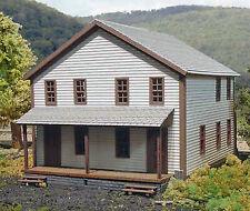 COMPANY HOUSE #3 HO Historic Model Railroad Structure Unpainted Laser Kit LA607