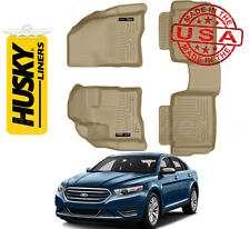 Husky Liners Weatherbeater Floorliners 1st & 2nd Row Combo 2010-2017 Ford Taurus