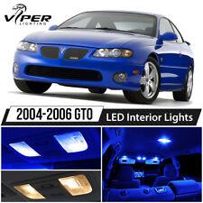 2004-2006 Pontiac GTO Blue LED Lights Interior Package Kit