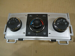 Compatible with 08 09 chevrolet malibu ac heater climate control 41360