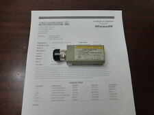 Agilent HP 8481A 10MHz - 18GHz RF Power Sensor (-30 to +20dbm) w/ Opt 001 APC-7